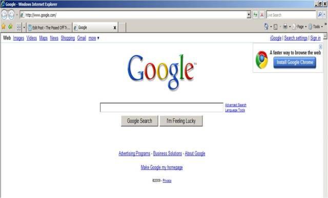 Google on 9_11_09