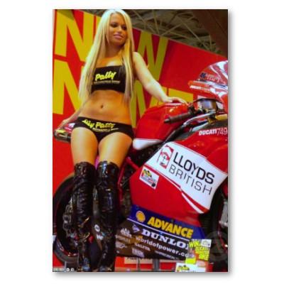 sportbike_biker_chick_poster