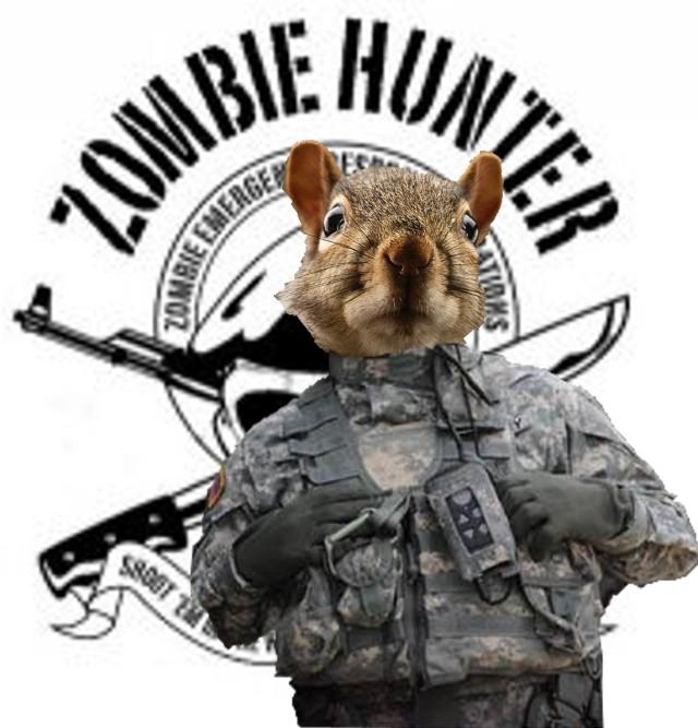 Squirrel Zombie Hunter