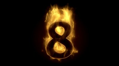 stock-footage-fiery-number-eight-burning-in-fire-loop-with-particles