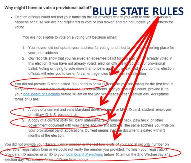 Blue state voter ID laws